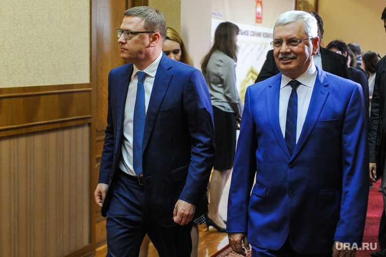 Алексей Текслер на встрече с депутатами Законодательного собрания. Челябинск