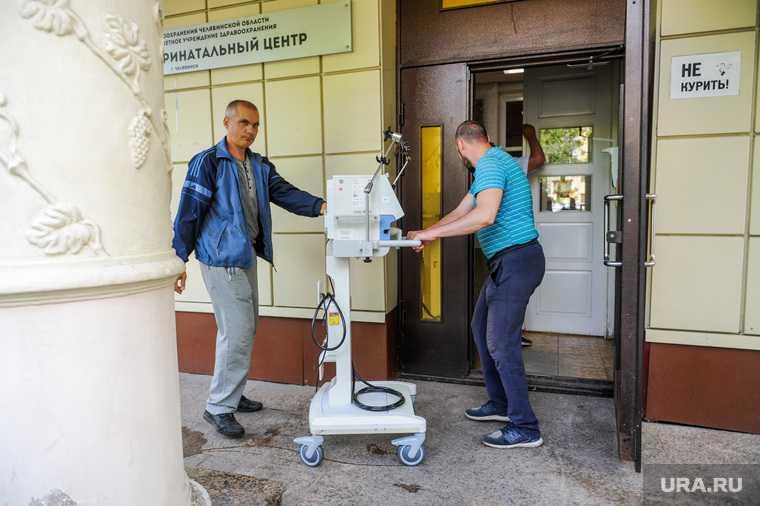 В перинатальном центре открывается новая госпитальная база для больных коронавирусом. Челябинск