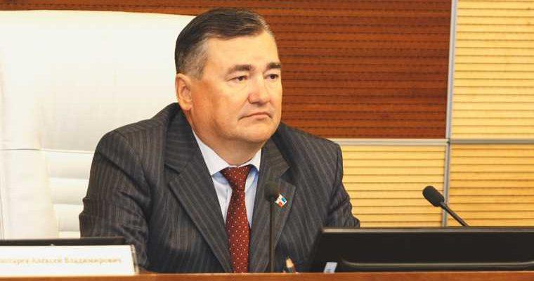 спикер парламента Пермского края Сухих