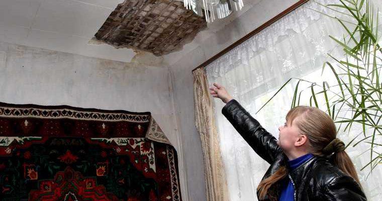капитальный ремонт Александровск дом завалили мусором