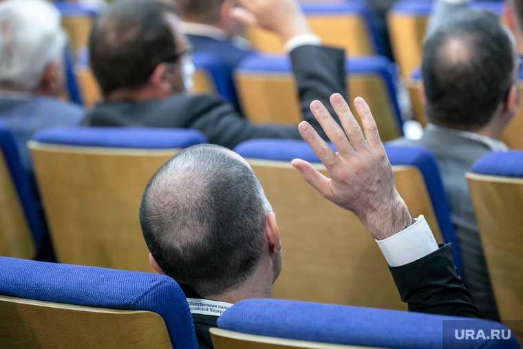 Первое заседание Общественной палаты РФ седьмого созыва. Москва