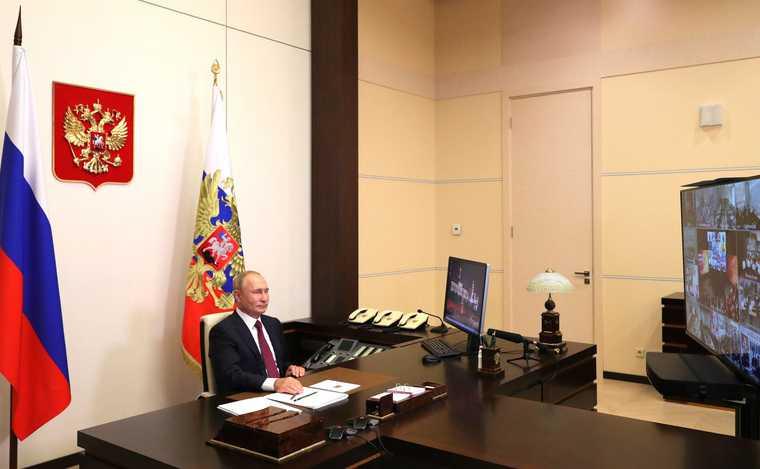 Путин возвращение дети школы 1 сентября