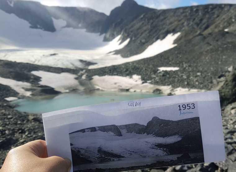 ледники Полярного Урала ЯНАО исследования