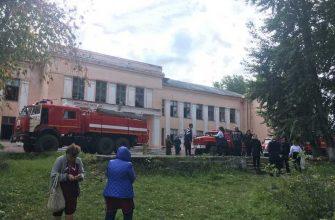школа уфалей пожар причина