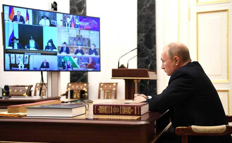 Путин совещание религия