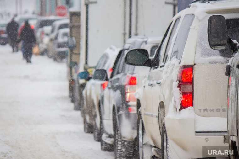 Россиян предупредили о зимних автоподставах