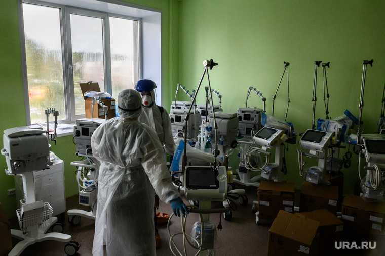коронавирус Нижний Тагил Свердловская область Демидовская больница оборудование
