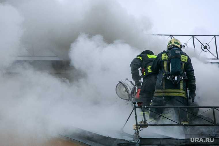 загорелась крыша жилого дома Пермь