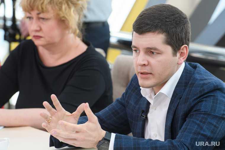 уволен глава дептранса ЯНАО Першиков