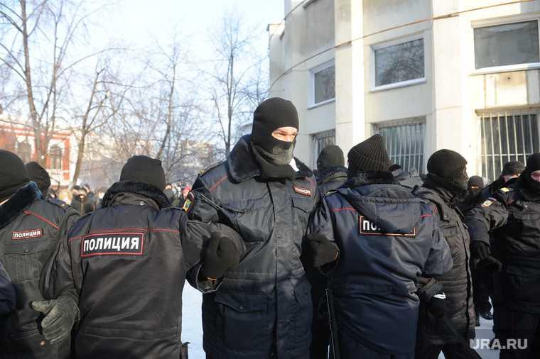 Челябинск акция Навальный 31 января