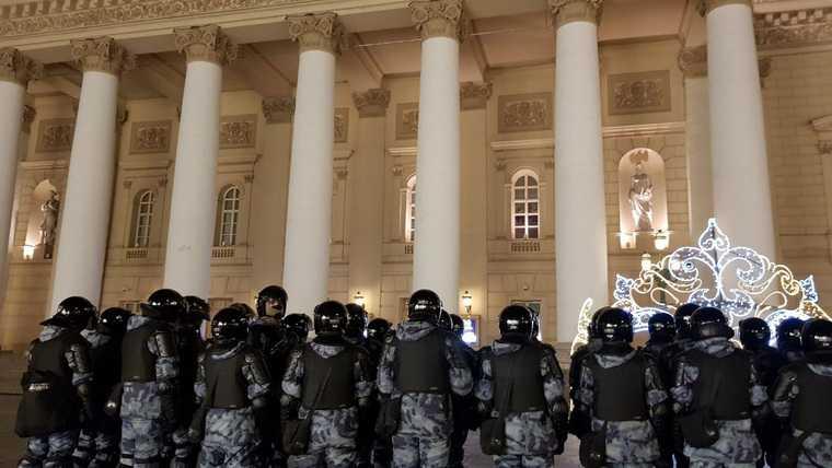 задержания Москва протесты