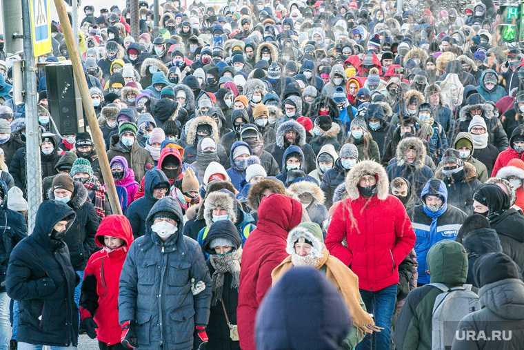 митинг навальный тюмень