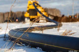 строительство российского газопровода