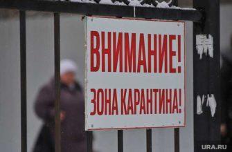 Красноуфимск карантин эпидемия Свердловская область