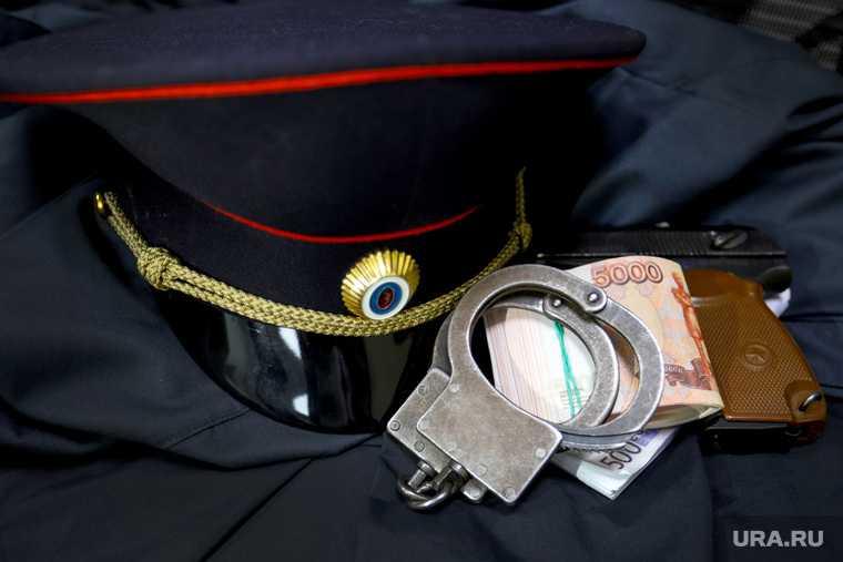задержание полицейского в челябинске