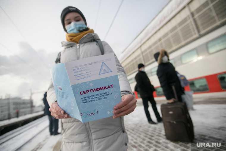 ЕС введение сертификаты вакцинации