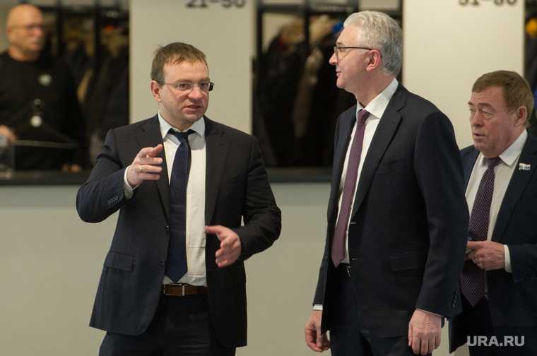 Екатеринбург вице мэр стройка Трапезников