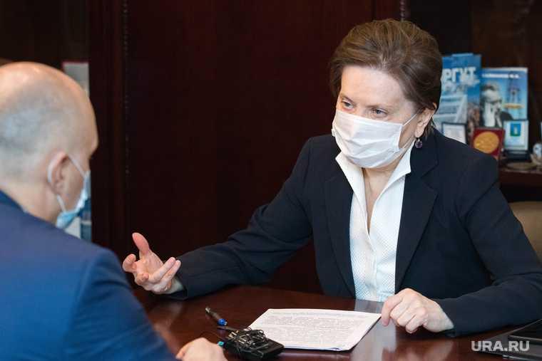 Губернатор ХМАО Комарова встреча глава Сургута Филатов