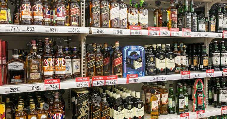 цены алкоголь спиртное продукция