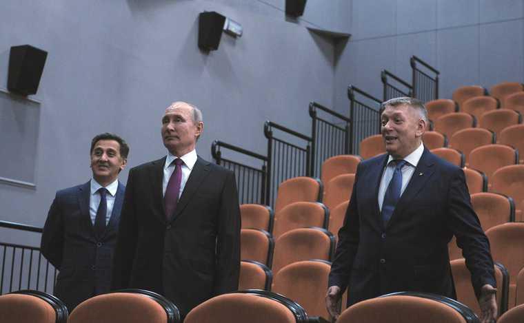 Путин встреча деятели культуры