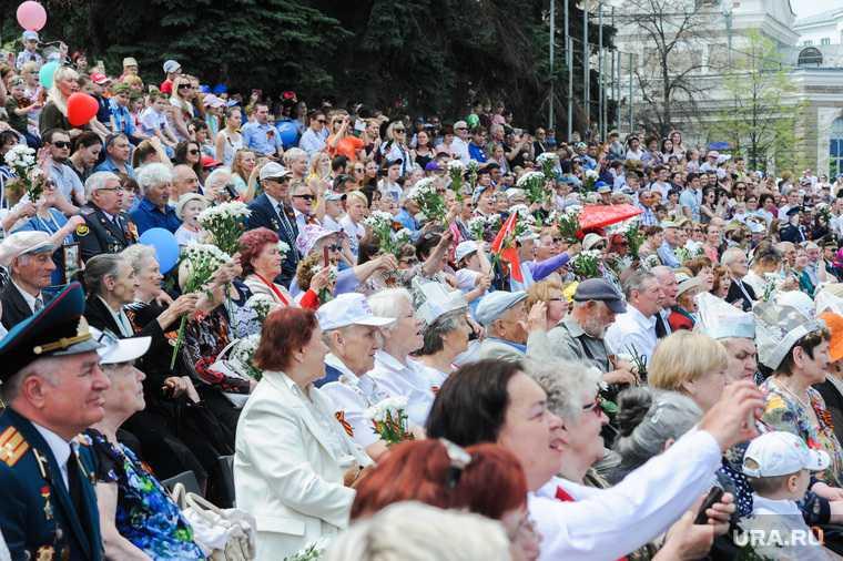Челябинск 9 мая Текслер ветераны афиша