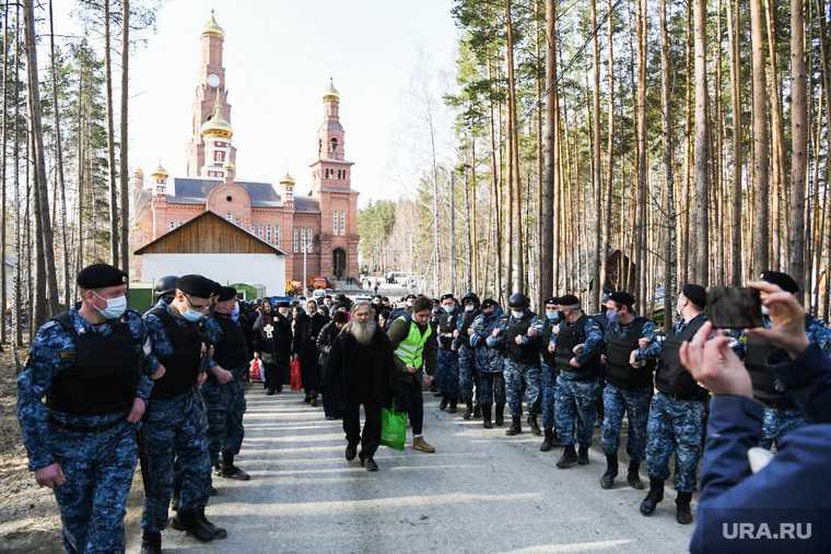 Среднеуральский монастырь отец Сергий Екатеринбургская епархия