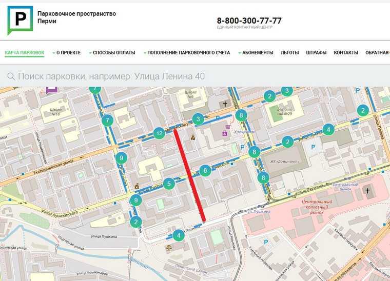 В Перми обсуждают расширение зоны платных парковок. Карта