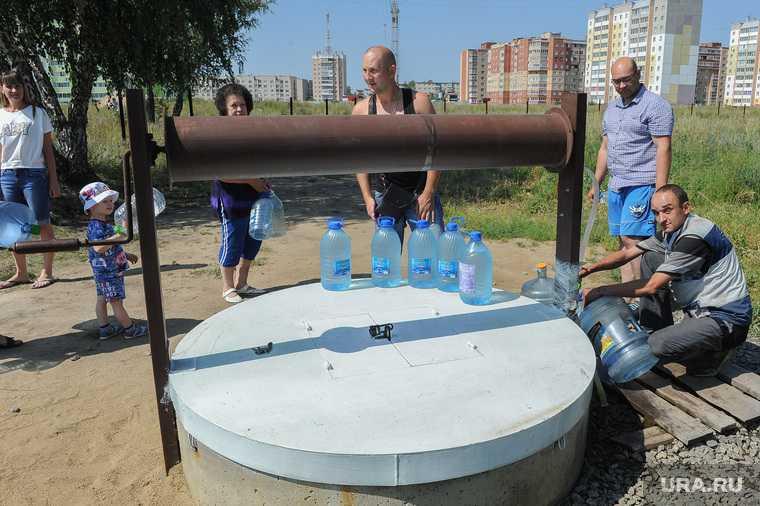Челябинская область вода ЖКХ колодец мусор ртуть загрязнение