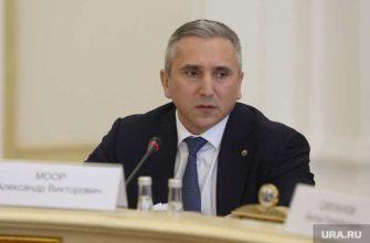Губернатор Моор обратился к тюменцам из-за лесных пожаров
