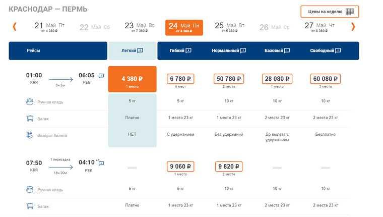 Пермские VIP жалуются на дорогие билеты в Краснодар