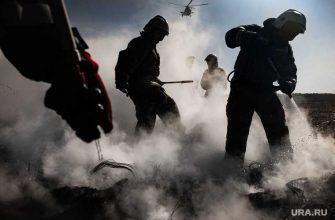 что горит в Березовском 14 мая