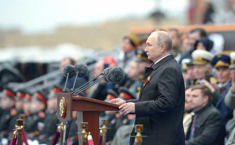 выступления Путина 9 мая