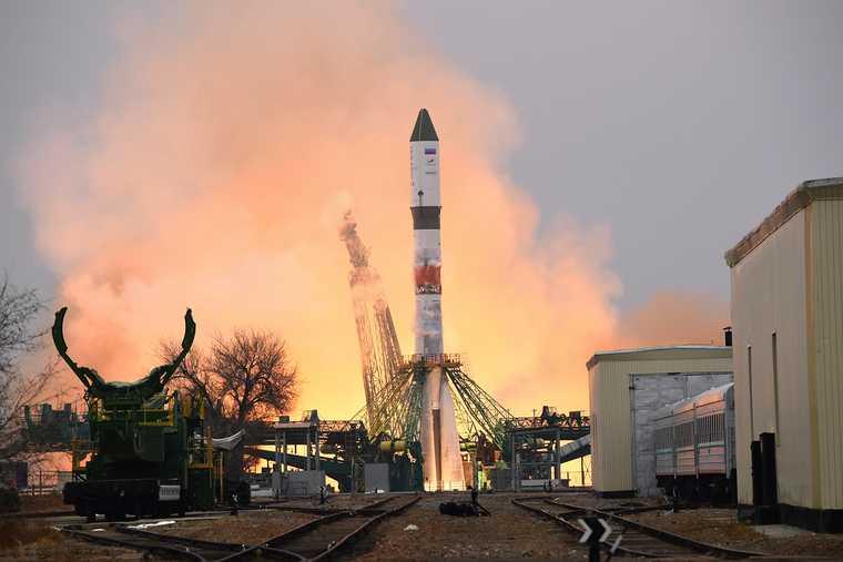 Россия запустила ракету