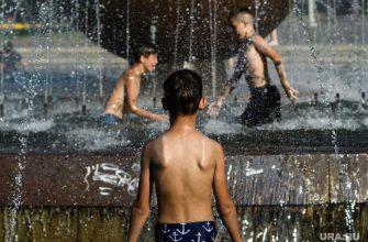 жаркое лето в Росии