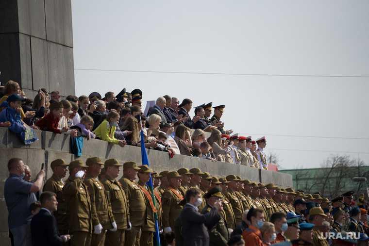 День Победы парад Екатеринбург VIP