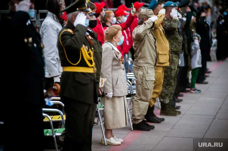 Парад Победы в Екатеринбурге