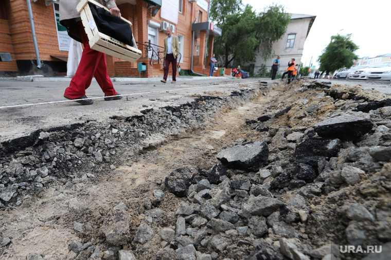 ремонт дорог сорваны сроки Курган