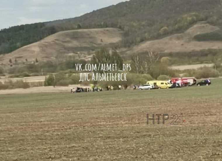 В Татарстане разбился самолет. Фото