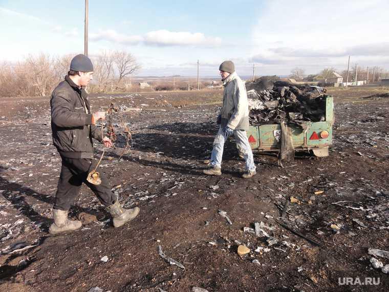 авиакатастрофа в Донбассе