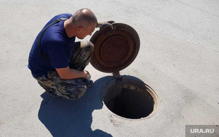 Челябинск колодец коллектор женщина Заячий остров утонула канализация