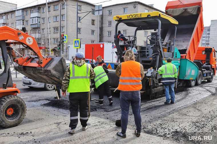 проблемы ремонта дорог Курган