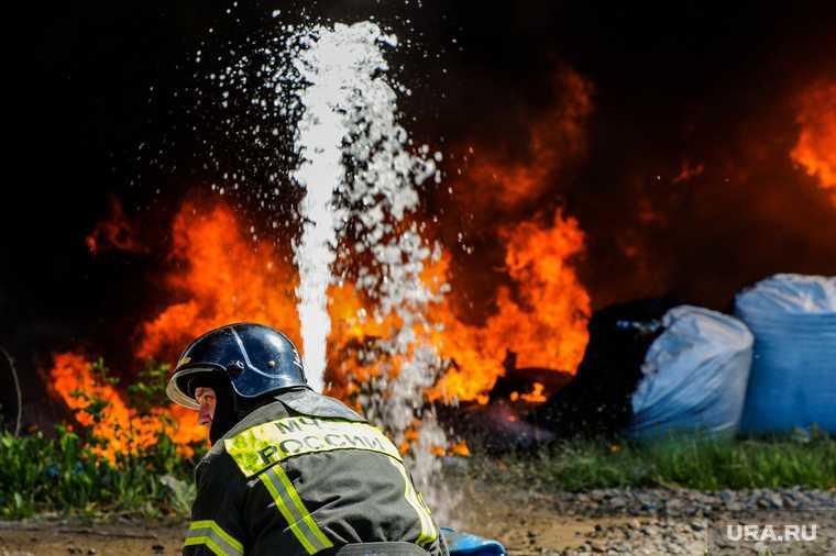 пожар склад екб озон адреса